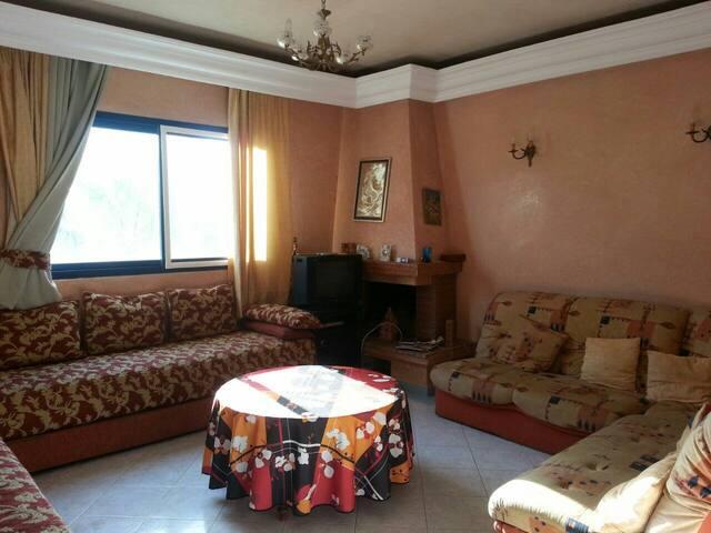 Très bel appartement meublé vue mer - Mohammedia - Huoneisto