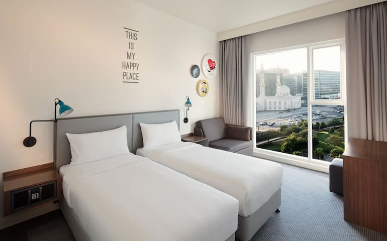 Amazing Deluxe Room Near to Airport - 杜拜 - 公寓