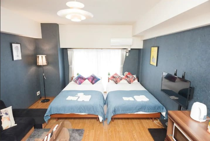 Great Access*1min walk to sta Near Tokyo Tower#601
