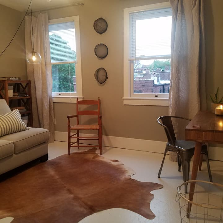Cozy 3rd floor suite in Soulard