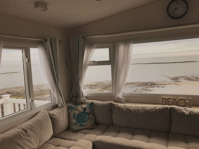 Panoramic sea views, dolphins and seals!