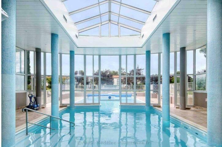 StudioC&C *piscine&jardin*haut de Saint Martin