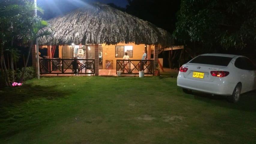 Cabaña privada en finca campestre