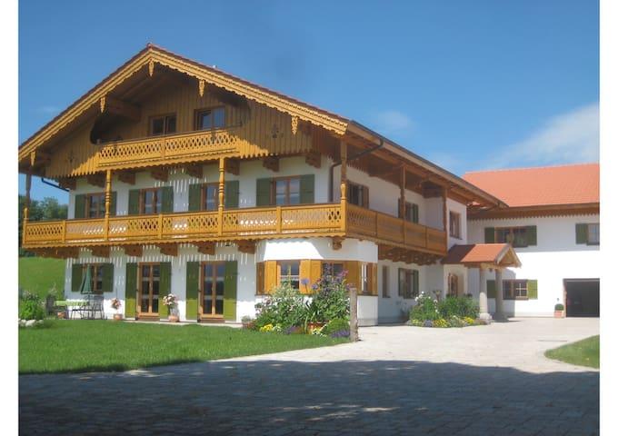 Liebevoll eingerichtes Appartement in ruhiger Lage - Huglfing - Prázdninový dům