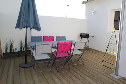 Maison 63 m² au Bois Plage en ré