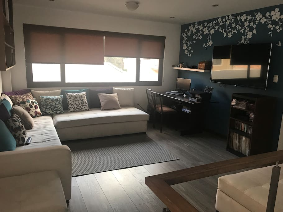 Zona de estar para uso de Tv