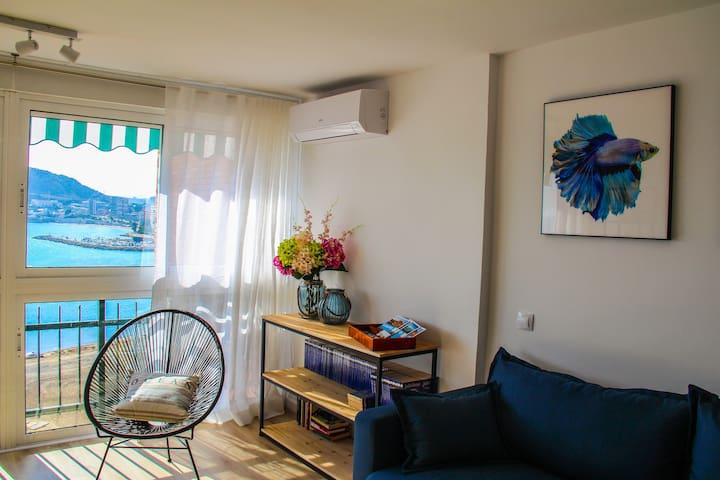 Aire Acondicionado en el apartamento, marca Fujitsu.