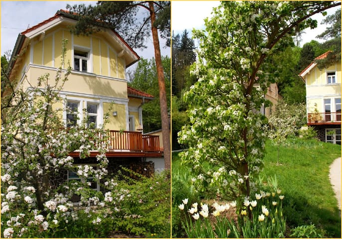 AMAZING HOUSE+BIG GARDEN -20min- Centre of PRAGUE - Prag - Haus