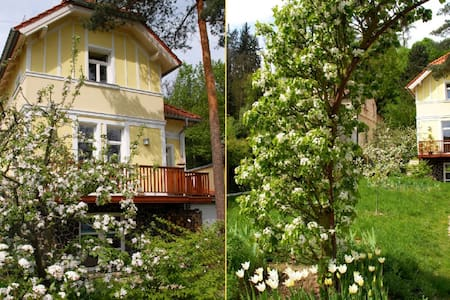 AMAZING HOUSE+BIG GARDEN -20min- Centre of PRAGUE - ปราก