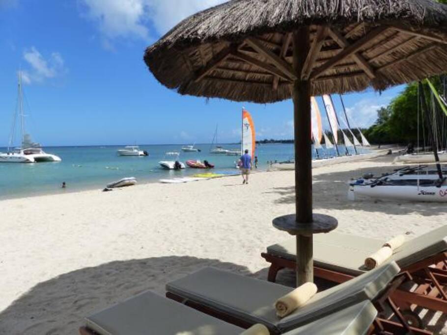 ClubMed Public Beach.