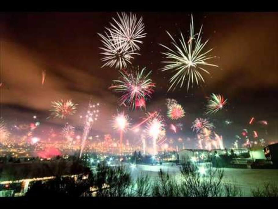 Reykjavík at New Year