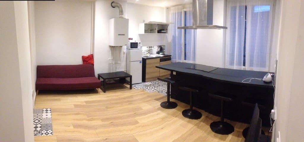 Appartement au centre ville - Saint-Étienne - Apartamento