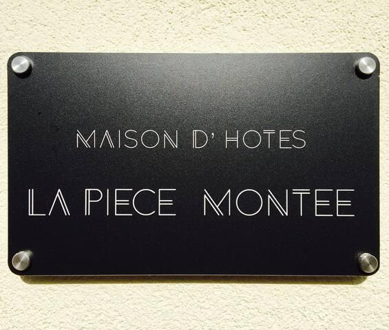 """Chambre d 'hôtes """"la pièce montée"""""""