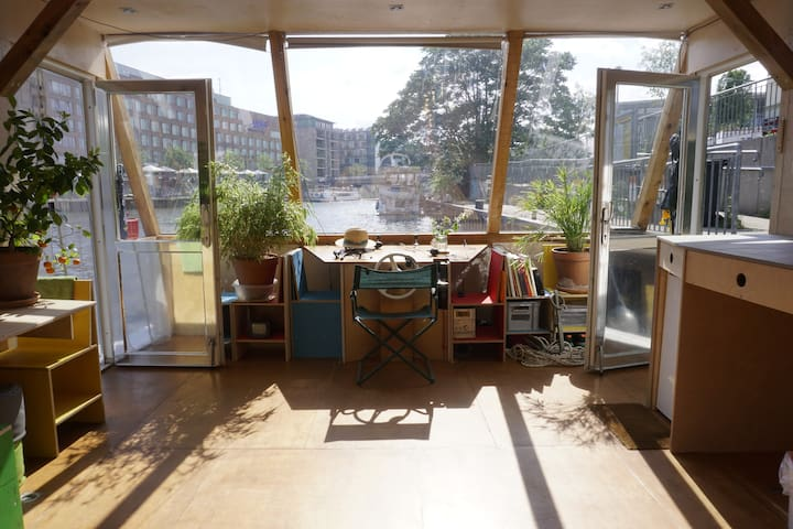 Berlin Unique Camera Obscura Houseboat