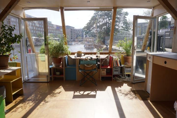 Berlin Unique Camera Obscura Houseboat