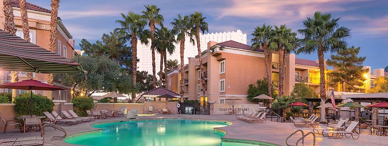 Relaxing Vegas Resort 1 Bdrm Suite near MGM Grand