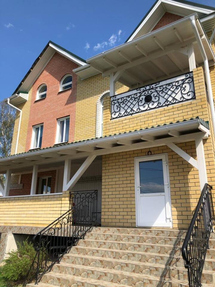 Rooms in the house 10km from Ekaterinburg