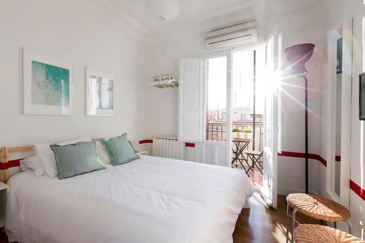 Apartamento amplio 2HAB/4PAX en Argüelles - Madrid - Apartemen