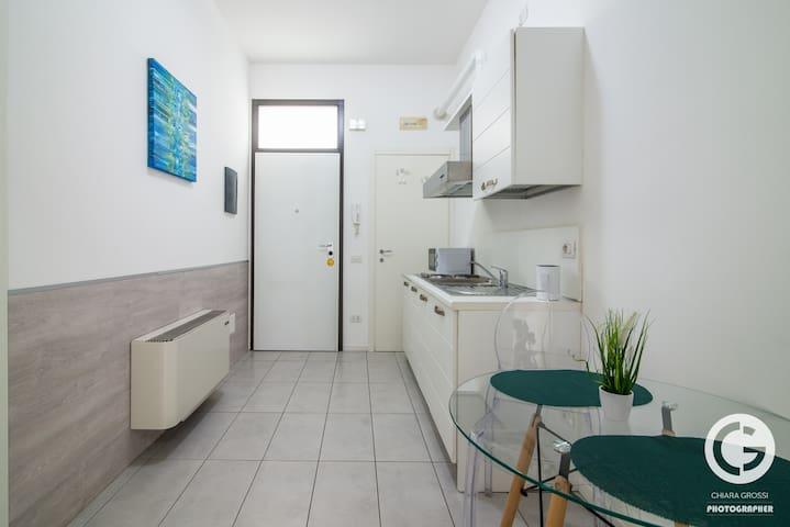 sala cucina soggiorno