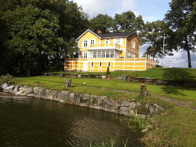 Living at the Lake Mälaren - Västerås - Villa