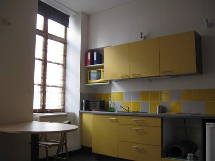 Studio mezzanine, meublé, Saxe Guillotière