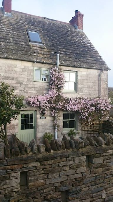Purbeck stone cottage