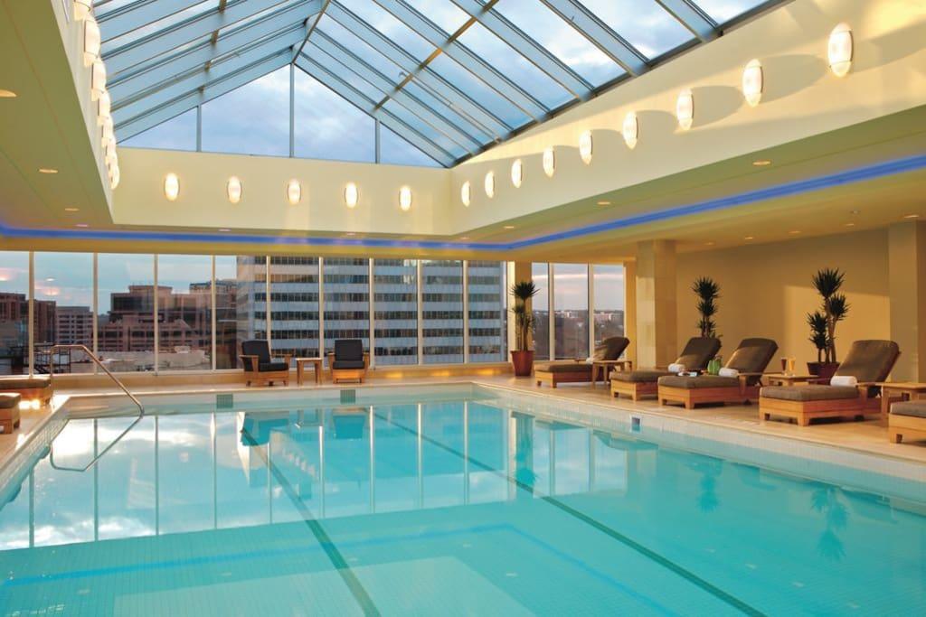 One of the amenity - Ritz-Carlton swimming pool