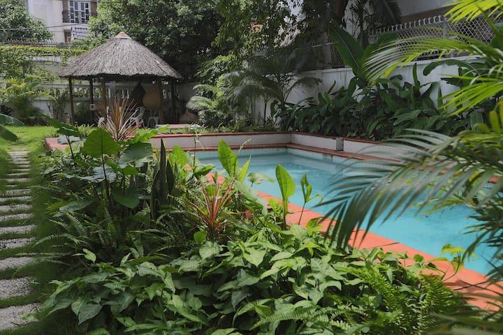 Maison avec piscine et jardin tropical - Ho Chi Minh - Casa