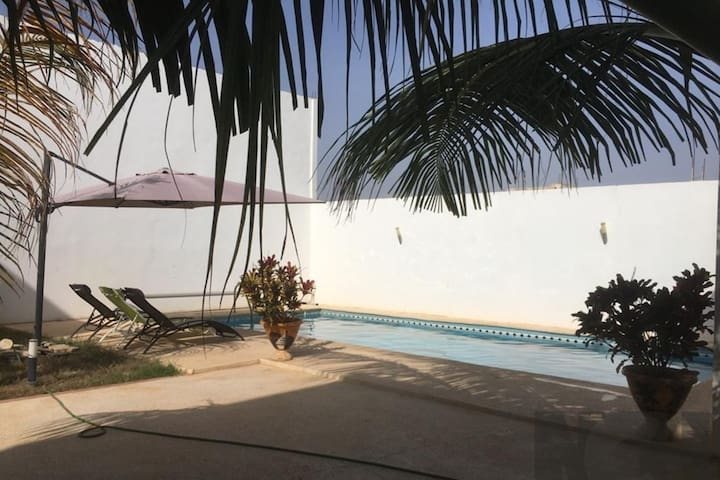 SALY -Villa Kage- 6 chambres Clim Piscine et Wifi