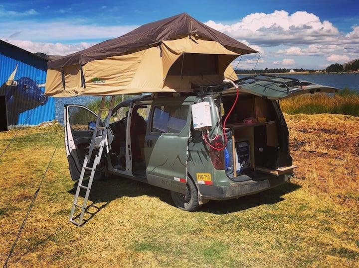 Intorno Camper van hire in Peru