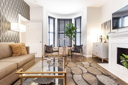 Bright, Modern Apartment in a Vintage Greystone