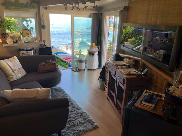 Oceanfront Laguna Beach Studio at Cove w/Kayaks