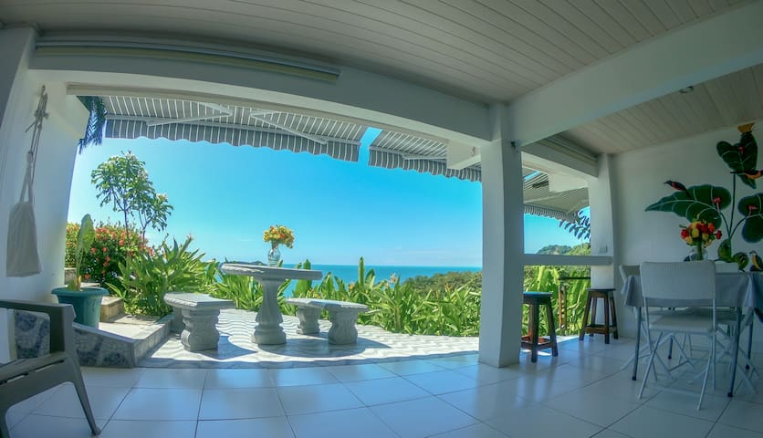 Manuel Antonio > Ocean View >Swimming pool>kitchen