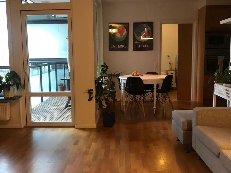 Kitchen from livingroom