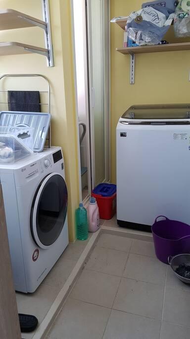 건조기 및 세탁기