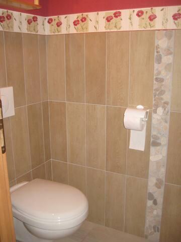 WC privé.