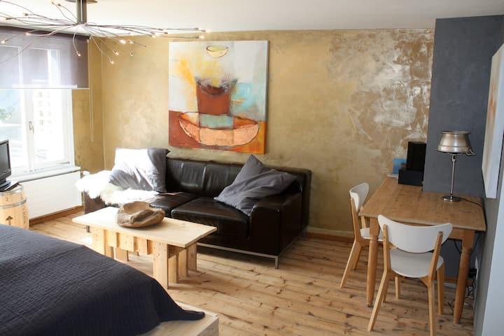 artful studio at the lake Untersee