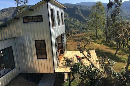 Alto del Vallado, hospedaje de montaña. Tiny house