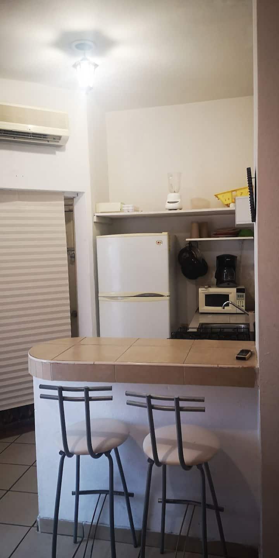 Apartamento mini  a uno pasos del mar en Z. Dorada