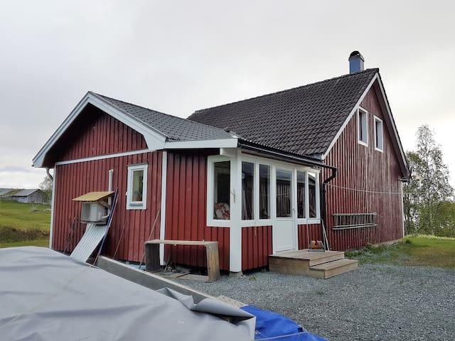 Trevligt hus i vackra Klimpfjäll!