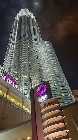 KLCC new KLTRILLION service apt - Kuala Lumpur - Hus