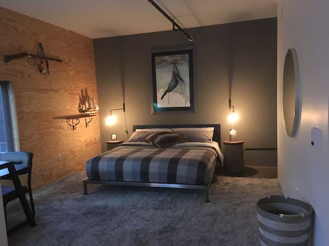 The loft getaway