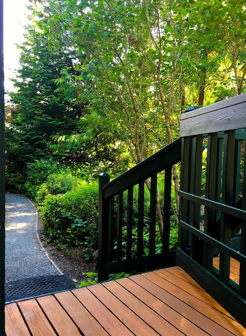 Walkway to the house