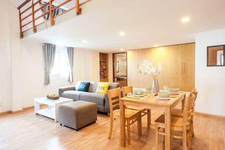 ★ Exclusive Duplex Apartment - VD 503 - Ho Chi Minh - Huoneisto