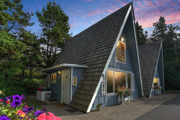 The Dude's Abode --A-Frame -- Private Ocean Access