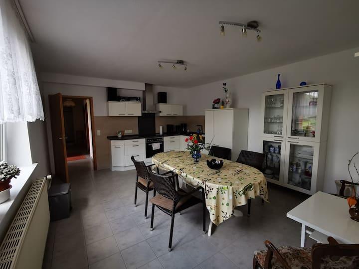 Gemütliche, große Ferienwohnung mit 3 Zimmern