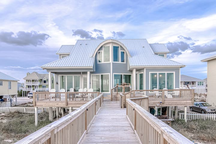 Freedom I | Gulf-Front with Private Boardwalk