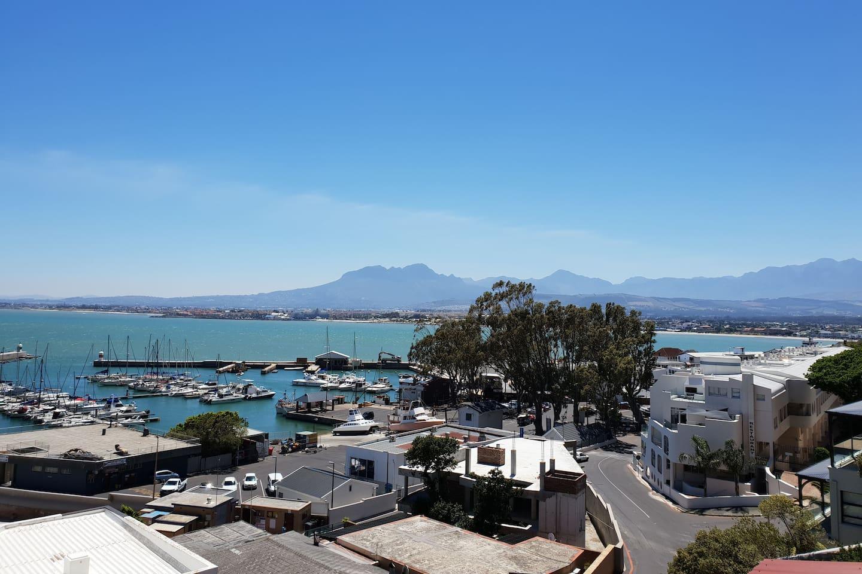 Harbour view from your balcony at Linga Longa.  1 minute walk to the blue flag Bikini Beach where swimming is heavenly!