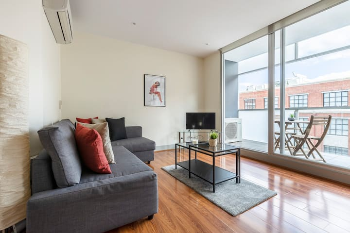 Entire Light Filled Apartment with FREE parking.