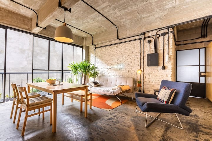 Amazing Loft at Old Factory & 360° Green Rooftop